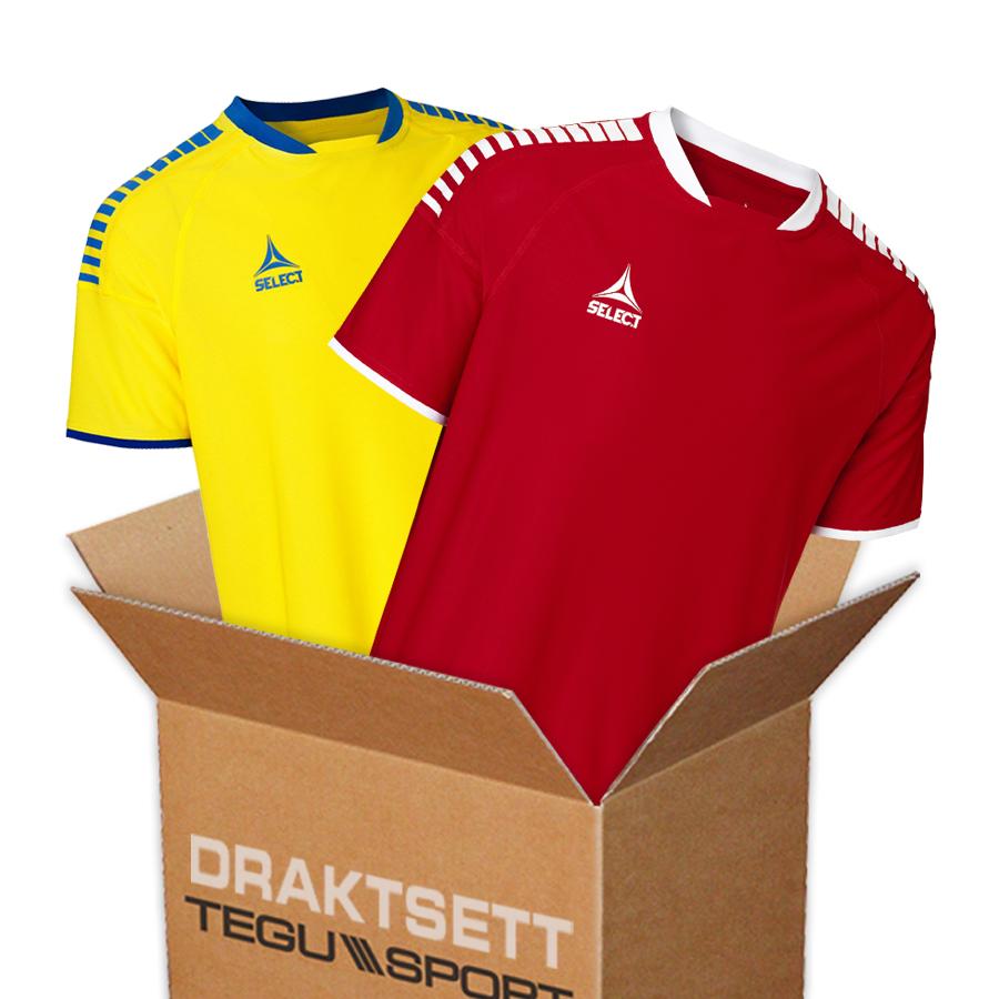f316833c Select Brazil komplett draktsett for fotball - Tegu Sport ...